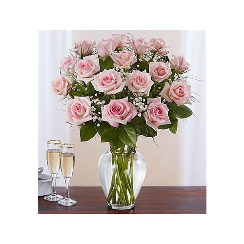 18-pink-roses-in-a-vase-by-flowerama