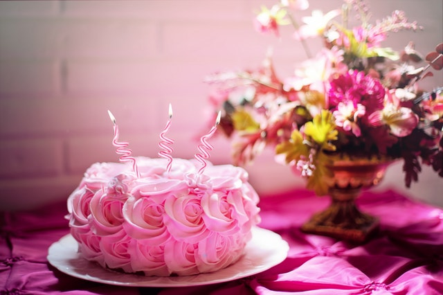 Rose_Petal_Cake_and_Birthday_Flowers